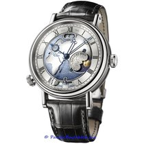 Breguet Platinum Automatic Blue Roman numerals 44mm new Classique