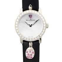 Blancpain Ladybird 18k White Gold With Diamond Silver Automati...