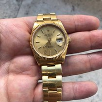 Rolex Oyster Perpetual Date 18k Gold