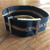 Tudor Fabric black/orange strap  4206560