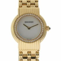Boucheron Reflet Yellow gold 28mm Mother of pearl