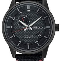 Seiko new Automatic Center Seconds Power Reserve Display Screw-Down Crown Only Original Parts PVD/DLC coating 42,4mm Steel Mineral Glass