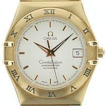 Omega Constellation Yellow gold 35.5mm Silver