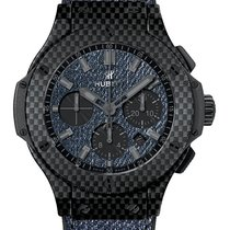 Hublot Big Bang Jeans Carbon 44mm Blau Keine Ziffern