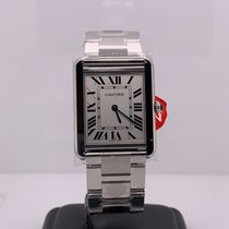 Cartier 34.8mm Quartz 2018 new Tank Solo Silver