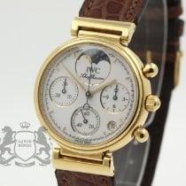 IWC Da Vinci Chronograph gebraucht 29mm Gelbgold
