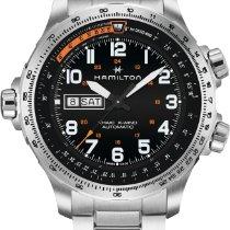Hamilton Khaki X-Wind nuevo Automático Reloj con estuche y documentos originales H77755133
