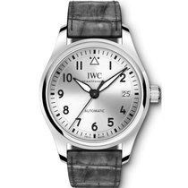 IWC Pilot's Watch Automatic 36 Steel 36mm Silver Arabic numerals United States of America, New York, New York