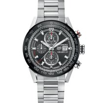 TAG Heuer Carrera Calibre HEUER 01 pre-owned 43mm Steel