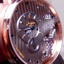 Glashütte Original PanoMaticInverse Rose gold 42mm Transparent United States of America, North Carolina, Winston Salem