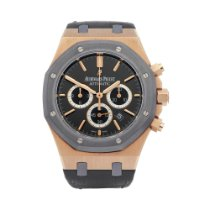Audemars Piguet Royal Oak Chronograph Roségold 41mm Schwarz
