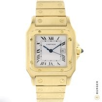 Cartier Santos Galbée Yellow gold 29mm White Roman numerals