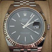 Rolex Datejust II Acier 41mm Gris Sans chiffres France, Nice