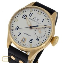 IWC Yellow gold Automatic Silver Arabic numerals 46mm pre-owned Big Pilot