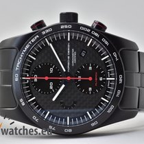 Porsche Design Chronotimer Titanyum 42mm Siyah Sayılar yok