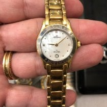 Delma Yellow gold 25mm Quartz pre-owned