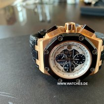 Audemars Piguet Royal Oak Offshore Chronograph Rose gold 45mm White