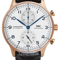 IWC Portuguese Chronograph Rose gold 41mm White United States of America, New York, Airmont