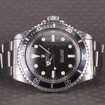 Rolex Submariner (No Date) Stål 40mm Sort Ingen tal Danmark, Hellerup