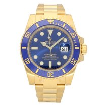 Rolex Submariner Date Yellow gold 40mm Blue No numerals United States of America, Georgia, Alpharetta