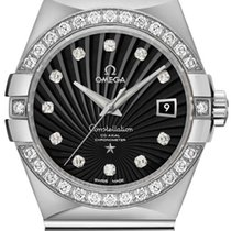 Omega Constellation Ladies White gold 31mm Black