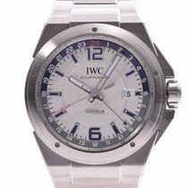 IWC Ingenieur Dual Time Stahl Weiß