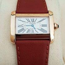 Cartier Divan Lady Watch Yellow Gold 18 krt (Full Set 2004)