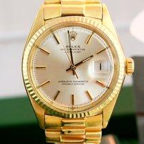 Rolex 1601 Datejust 18 Karat/ LC 100 /Deutsch von 1966 B & P