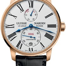 Ulysse Nardin Rose gold 42mm Automatic Marine Torpilleur new