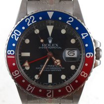 Rolex 1984 Transitional GMT-Master Matte Black Dial Pepsi Bzl