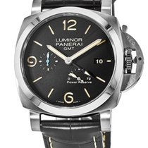 Panerai Luminor 1950 3 Days GMT Power Reserve Automatic nowość 44mm Stal