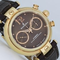 Poljot Chronograph 40mm Manual winding new Brown