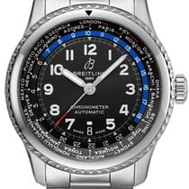 Breitling ab3521u41b1a1 Steel 2021 Aviator 8 43mm new United States of America, New York, Airmont