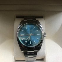 Rolex Milgauss 116400GV Z Blue Dial 2014 Full Set