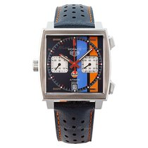 TAG Heuer Monaco Calibre 11 new Automatic Watch with original box and original papers CAW211R.FC6401