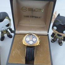 Elgin 60's Chronograph Valjoux 7736 Watch Panda Cal 330 (73643...