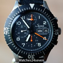 Sinn Chronograph 43mm Automatic pre-owned 156 Black