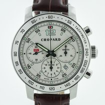Chopard Steel Automatic Silver 36mm pre-owned Mille Miglia