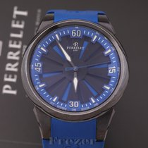 Perrelet 44mm Automatic pre-owned Turbine (submodel) Black