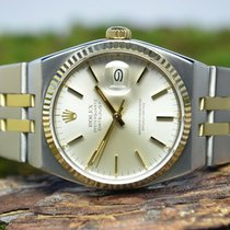 Rolex 36mm Quartz pre-owned Datejust Oysterquartz Gold