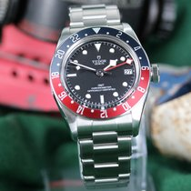 Tudor M79830RB-0001 Aço Black Bay GMT 41mm