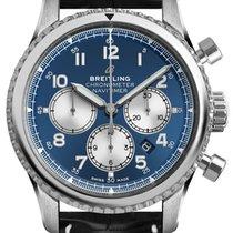 Breitling Navitimer 8 Steel 43mm Blue Arabic numerals United States of America, New York, New York
