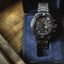 Sinn 156 Steel 43mm Black Arabic numerals