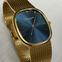 Patek Philippe Golden Ellipse Yellow gold 35mm Blue United States of America, New York, New York