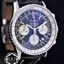 Breitling Navitimer pre-owned 42mm Black Chronograph Date