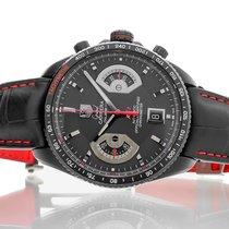 TAG Heuer Grand Carrera Τιτάνιο 43mm Μαύρο Xωρίς ψηφία