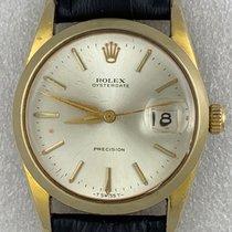 勞力士 Oyster Precision Rolex Oysterdate Precision 6694 Manual Wind Gold 1960 二手