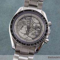 Omega Speedmaster Professional Moonwatch Stahl 42mm Silber