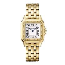 Cartier Yellow gold 27mm Quartz WJPN0016 new