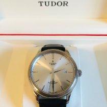 Tudor Style Stahl 41mm Silber